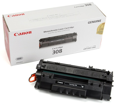 Mực in Canon 308 Black Toner Cartridge